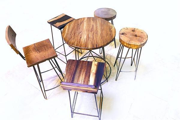 نمایشگاه آثار چلنگری و چوب در سازمان میراث فرهنگی
