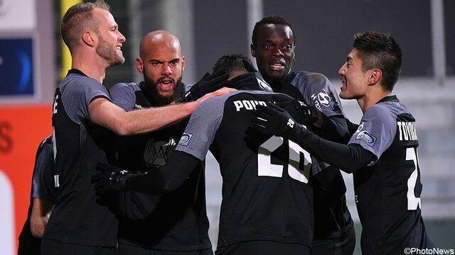 گلزنی پورعلی گنجی در لیگ بلژیک