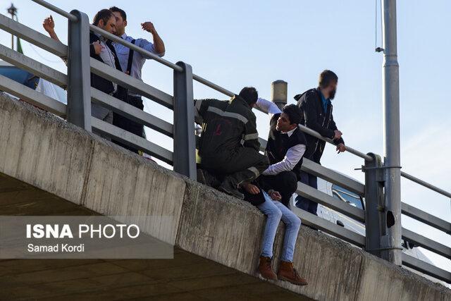 انصراف جوان کرجی از خودکشی