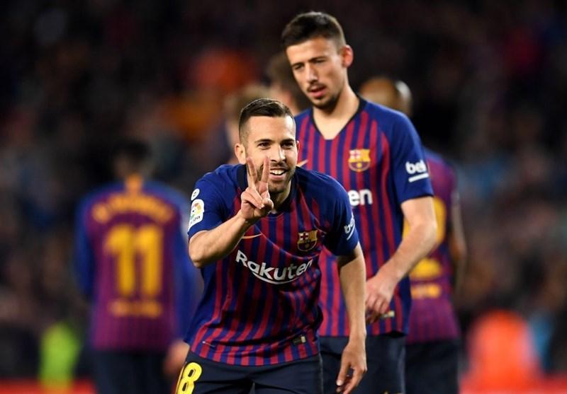 بارسلونا با پیروزی خانگی در فاصله 6 امتیازی فتح لالیگا نهاده شد