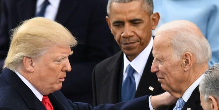ترامپ: اوباما، بایدن را از میان زباله ها جمع کرد