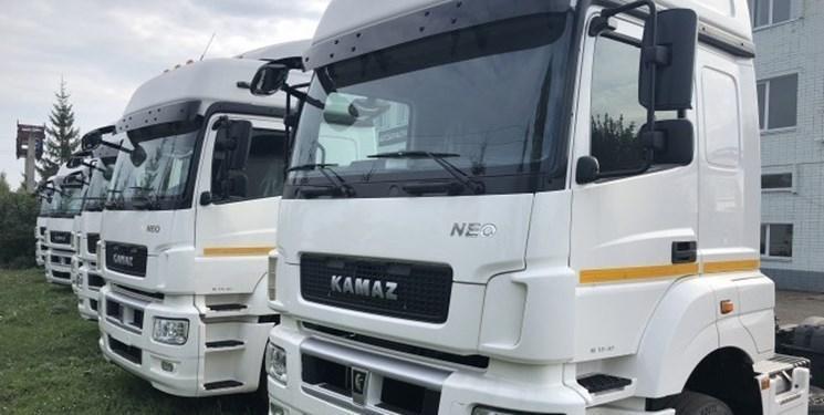 صادرات 2 هزار کامیون کاماز روس به ترکمنستان
