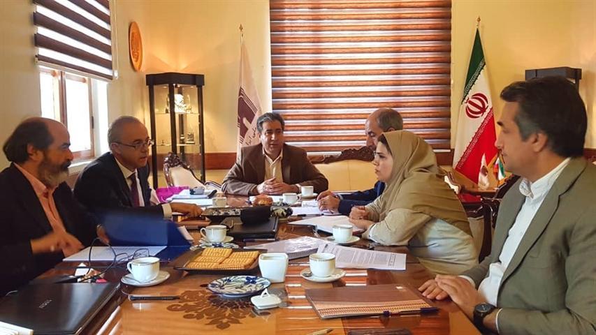 دیدار مدیر موزه باستان شناسی آلیکانته با مدیر موزه ملی ایران