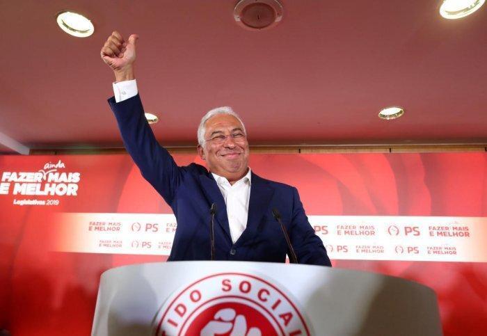 پیروزی چشم گیر سوسیالیست ها در انتخابات پارلمانی پرتغال