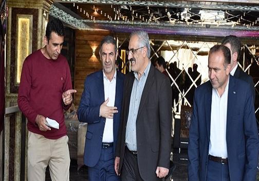بازدید استاندار از هتل 3 ستاره ممتاز یاسوج، قول کلانتری به برادران اتابک