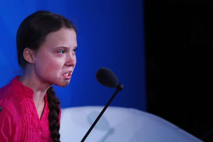 عکس روز: گرتای خشمگین