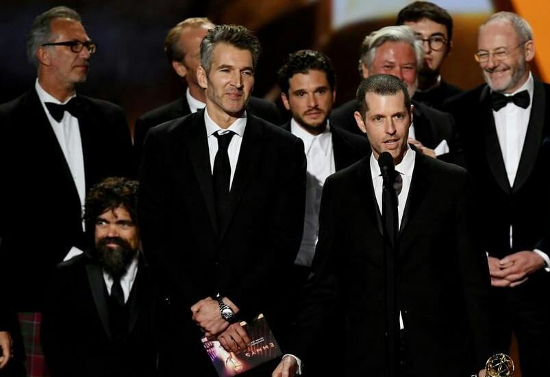 فصل آخر بازی تاج و تخت بهترین سریال جوایز امی شد