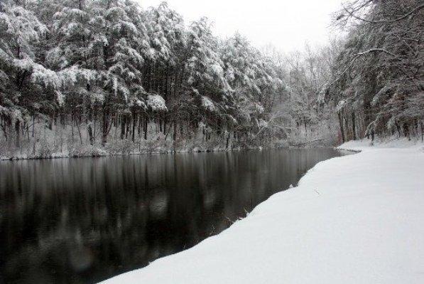 بارش برف سیاه در آمریکا