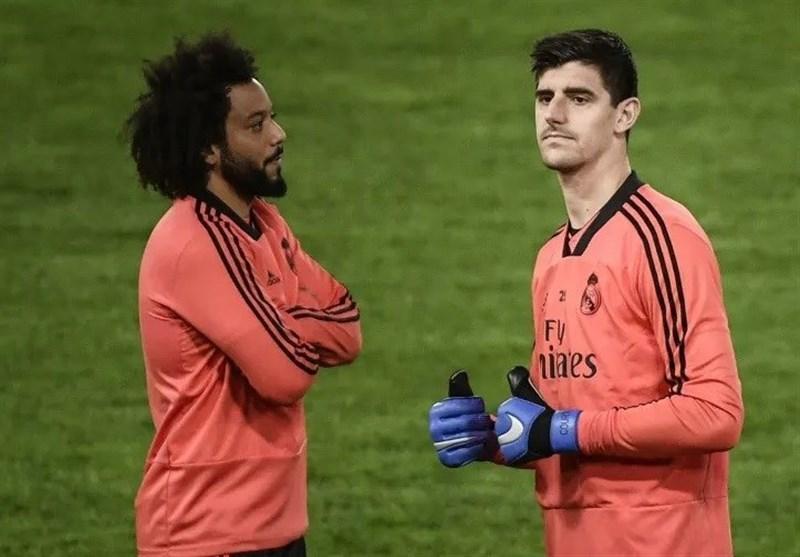 تشریح وضعیت کورتوا و مارسلو از سوی باشگاه رئال مادرید