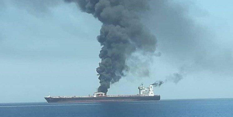 انفجار بدنه نفتکش ایرانی در دریای سرخ ، وضعیت نفتکش