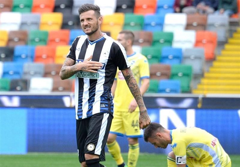 جام حذفی ایتالیا، اودینزه صعود کرد، ساسولو حذف شد