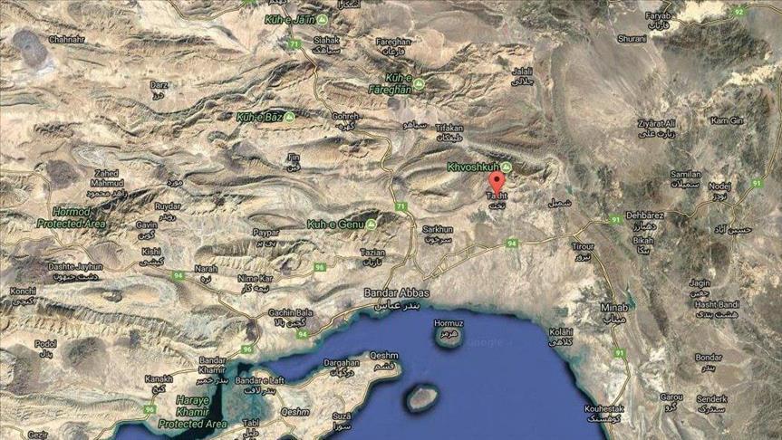 زلزله 4.2 ریشتری استان هرمزگان را لرزاند