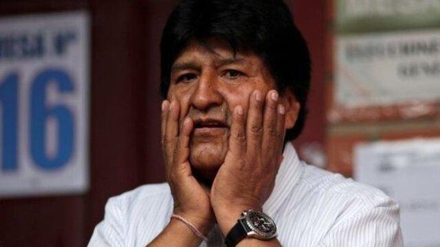 رییس جمهوری بولیوی استعفا داد