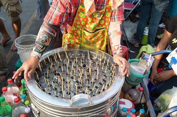 بازار آخر هفته ای چاتوچاک در بانکوک