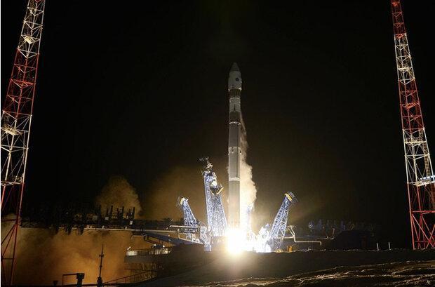 روسیه یک ماهواره سری و نظامی را به مدار زمین فرستاد