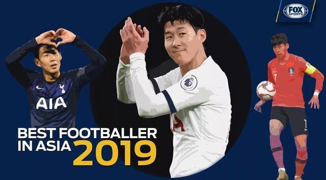 سون بهترین بازیکن 2019 آسیا شد، آزمون در رده پنجم