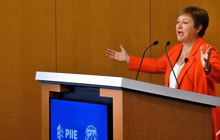 هشدار رئیس صندوق بین المللی پول ، خطر بازگشت رکود بزرگ اقتصاد دنیا را تهدید می نماید