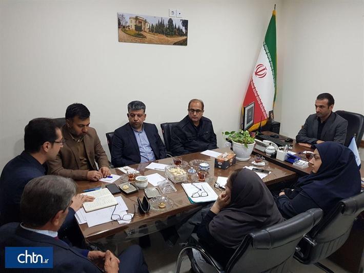 برگزاری نشست سرپرست اداره کل گلستان با مدیران موزه های استان