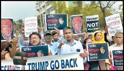 تعداد کشته های اعتراض علیه سفر ترامپ به هند به 42 نفر رسید
