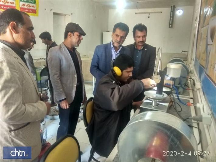 افتتاح کارگاه تراش سنگ های قیمتی و نیمه قیمتی در هیرمند