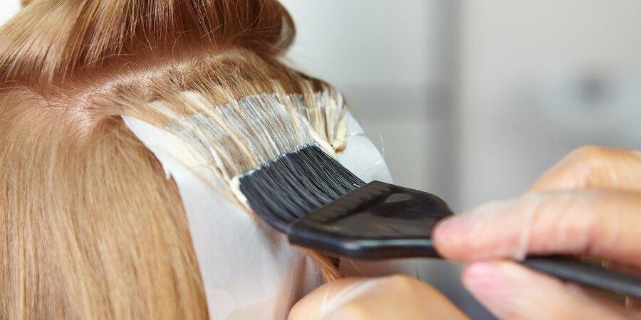 نکته بهداشتی ، احتیاطات هنگام رنگ کردن موها