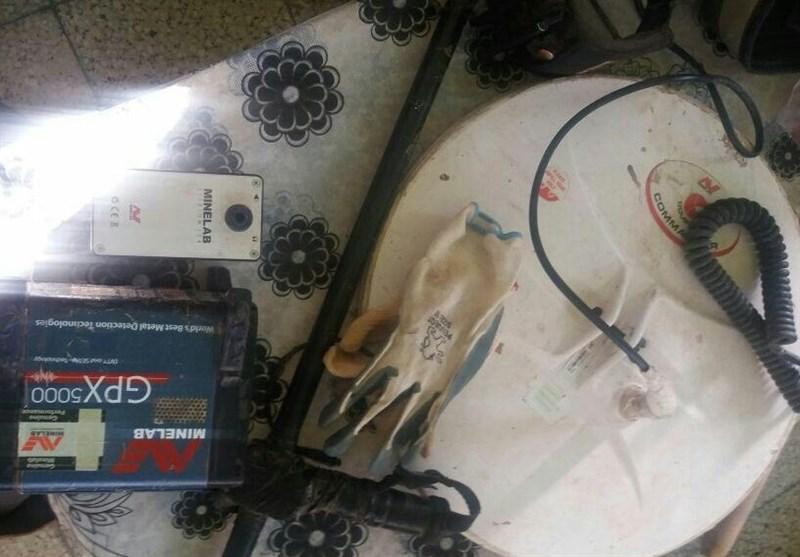 یک تیم حفاری اشیاء عتیقه در شهرستان کهگیلویه دستگیر و منهدم شد
