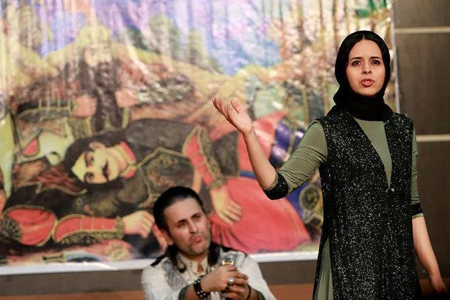 قصه گویی یک نقال ایرانی در یک رخداد جهانی به بهانه خانه نشینی