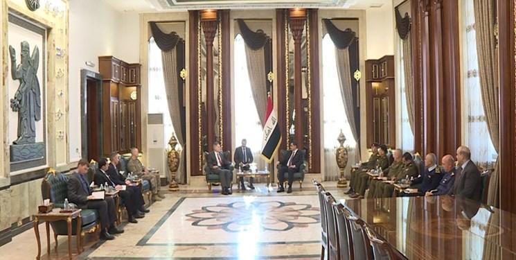 سفیر آمریکا با وزیر دفاع عراق ملاقات کرد