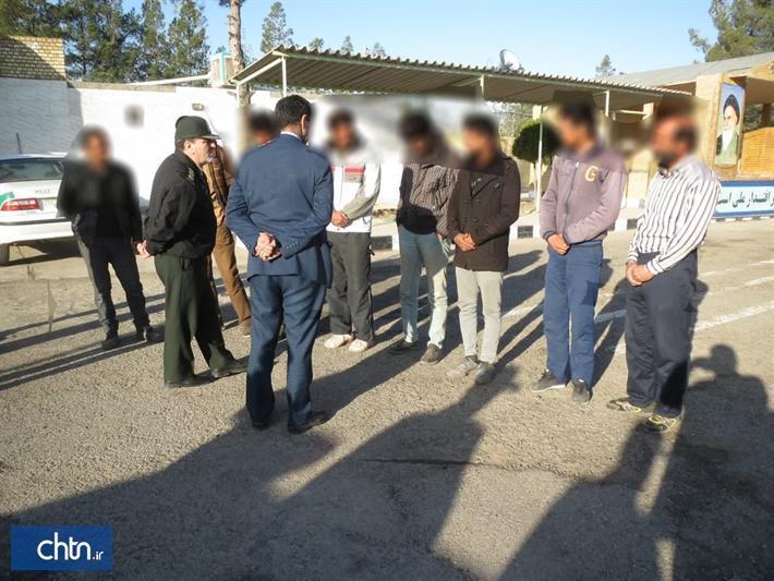 دستگیری 8 حفار غیرمجاز در خواف
