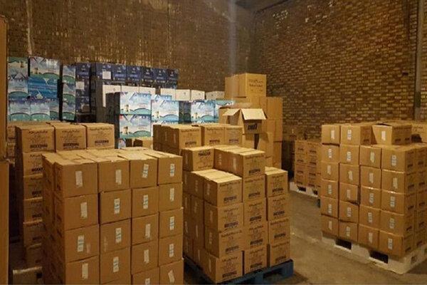 200 هزار دستکش در شهریار کشف شد