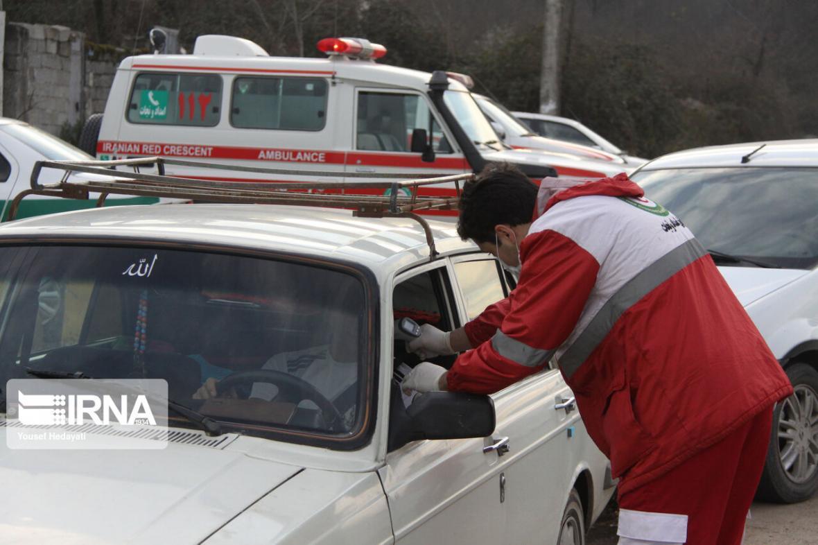 خبرنگاران 400 هزار نفر در ورودی های مازندران تب سنجی شدند