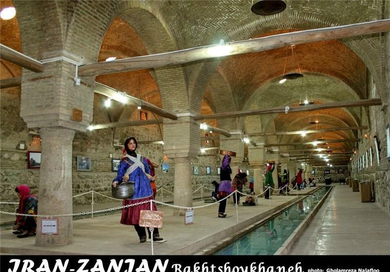بنای رختشوی خانه زنجان، بنایی با کارکرد بی نظیر