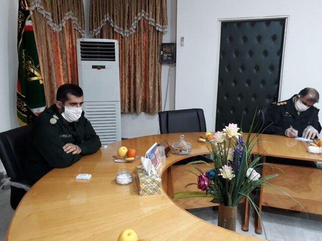 اجرای رزمایش سراسری مدافعان سلامت در 5 معبر ورودی شهرستان ساری