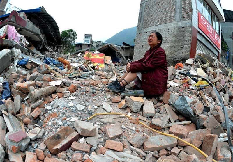 تلفات زمین لرزه چین به 89 کشته و بیش از 500 زخمی افزایش یافت