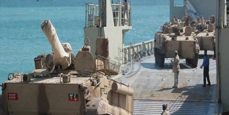 ورود خودروهای زرهی سعودی به سقطری و استقرار شبه نظامیان امارات