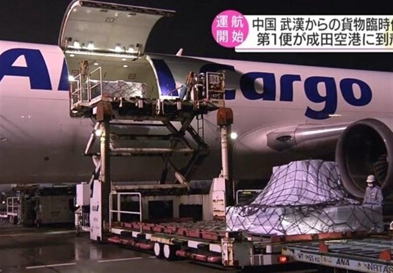 شروع پرواز باری از ووهان چین به ناریتای ژاپن