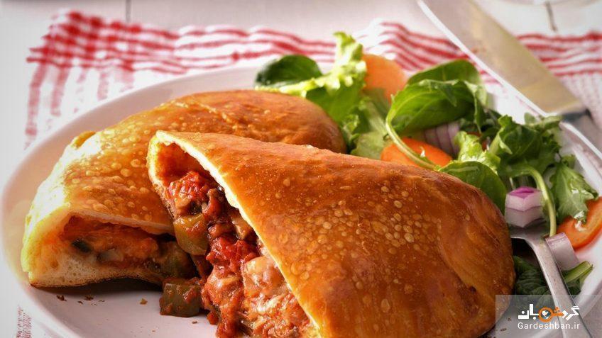 کالزونه یک پیتزای ایتالیایی متفاوت