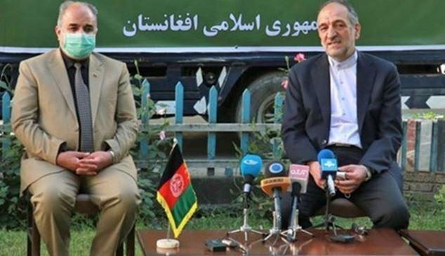 اهدای یاری 11 تنی تجهیزات پزشکی ایران به افغانستان