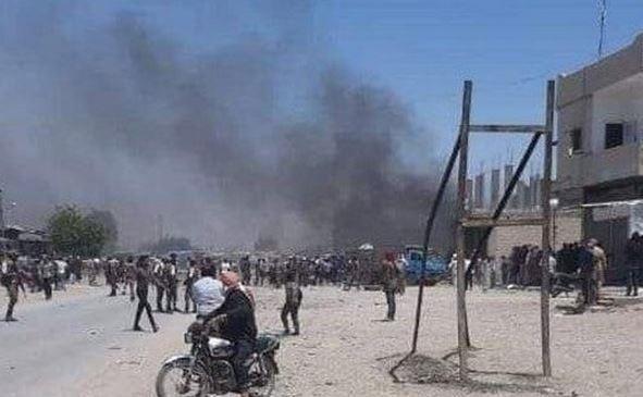 انفجار خودرو بمب گذاری شده در شمال شرق سوریه
