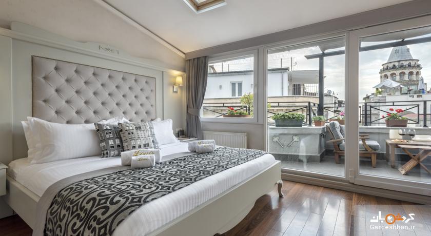 Louis Appartements Galata؛ هتل چهار ستاره میان رده در استانبول، تصاویر