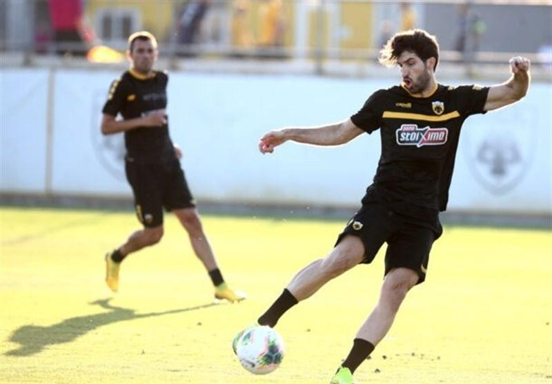 غیبت انصاری فرد در ملاقات فینال جام حذفی یونان