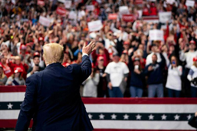 آخرین تقلاهای انتخاباتی ترامپ: از مبارزه دست نمی کشم