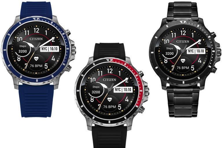 اولین ساعت هوشمند سیتیزن با نمایشگر لمسی و Wear OS معرفی گردید