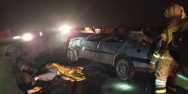 مرگ تلخ جوان 22 ساله در جاده ورامین