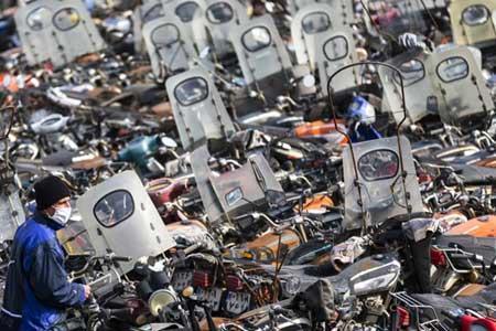 تردد موتورسیکلت های دودزا ممنوع شد