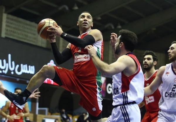 لیگ برتر بسکتبال، پیروزی آسان صدرنشین مقابل قعرنشین، هشتمین برد متوالی مهرام