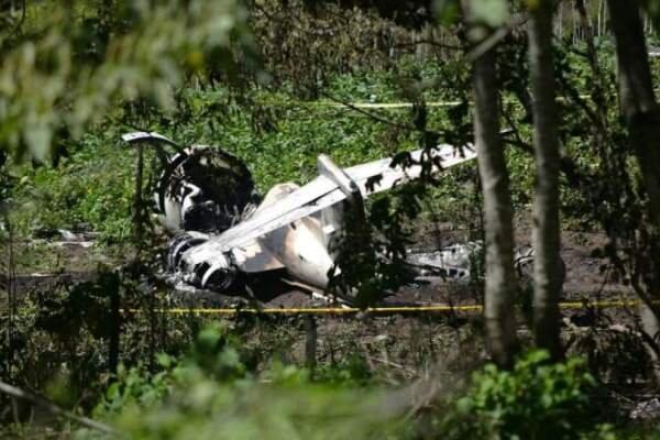 یک فروند هواپیمای نیروی هوایی مکزیک دچار سانحه شد