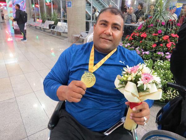 خبرنگاران درخشش ورزشکاران معلول لرستانی در رقابت های دو و میدانی امارات