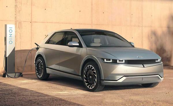 خودرو هیوندای آیونیک 5 اولین مدل از سری جدید مدل های الکتریکی