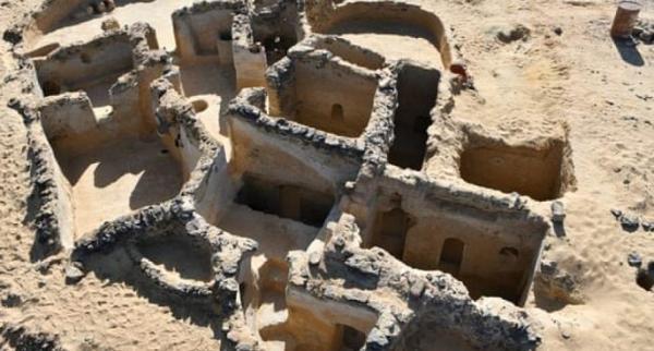 ویرانه کلیساهای تاریخی در مصر کشف شد